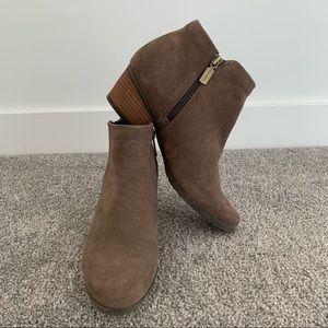 Blondo Valli Waterproof Ankle Boot Dark Taupe
